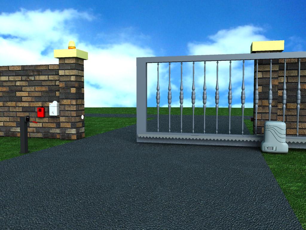Puertas automaticas madrid for Puertas automaticas garaje